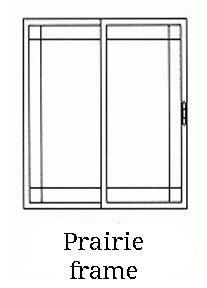 Praire frame